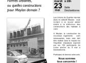 Prochain atelier : comment construire à Meylan?