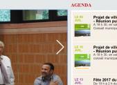 Agenda de la mairie pour début juillet