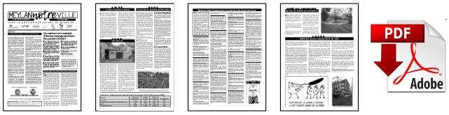 Meylan, NOTRE ville. Journal N°2. Tiré en 6400 exzmplaires.