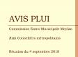 Présentation aux conseillers métropolitains de l'avis PLUi